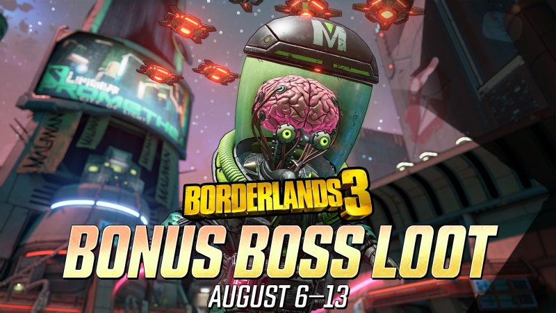 Borderlands 3 bonus boss loot