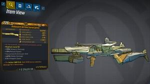 Borderlands 3 Legendary Hyperion Shotgun - Convergence