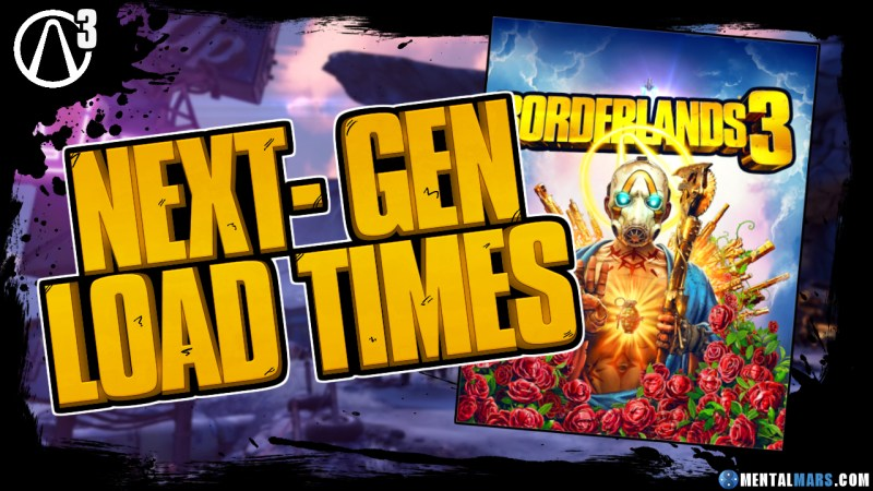 Borderlands 3 Loading Times Xbox Series X