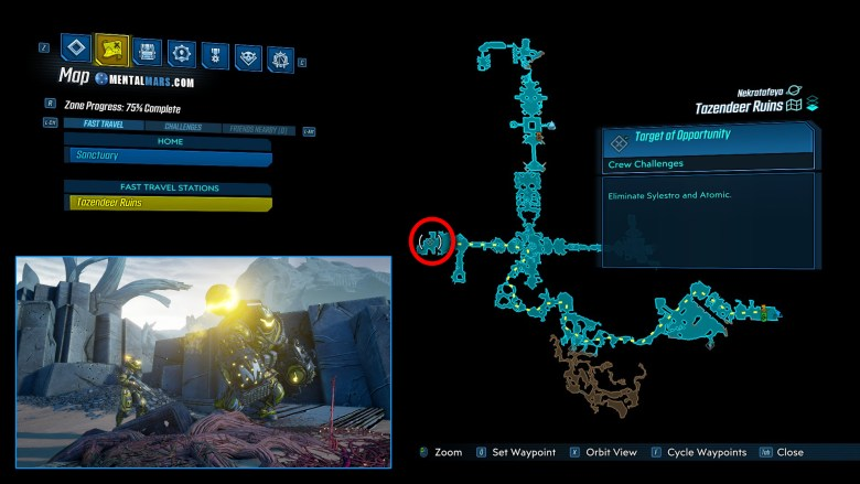 Atomic & Sylestro Location Guide - Borderlands 3
