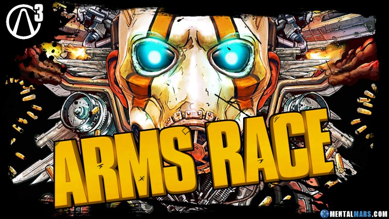 Borderlands 3 New Game is called Arms Race