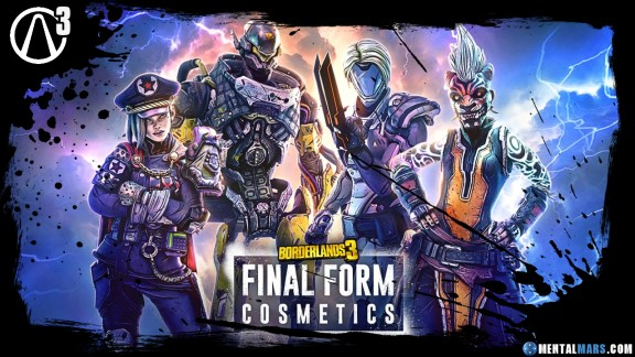 Borderlands 3 Final Form Cosmetics