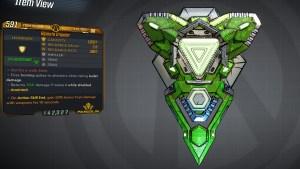 Borderlands 3 Legendary Pangolin Shield - Impaler