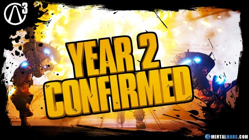 Borderlands 3 Year 2 Confirmed