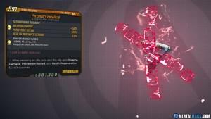 Borderlands 3 Legendary Eridian Artifact - Holy Grail