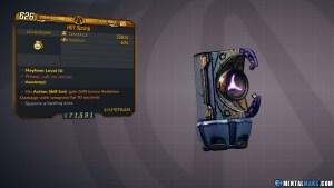 Borderlands 3 Legendary Hyperion Grenade Mod - HOT Spring