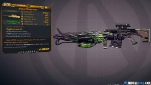 Borderlands 3 Legendary Vladof Sniper Rifle - Boogeyman