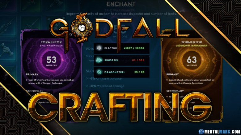 Godfall Enchant Weapons
