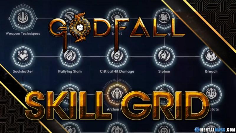 Godfall Skill Grid Overview