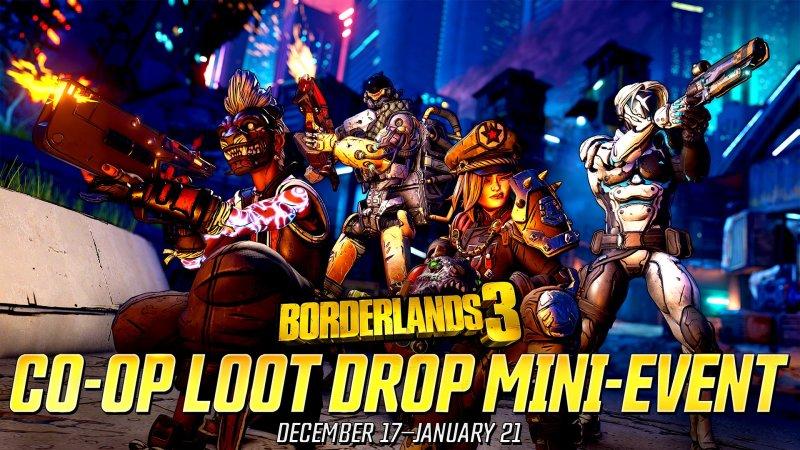 co-op loot drop mini-event returns - Borderlands 3