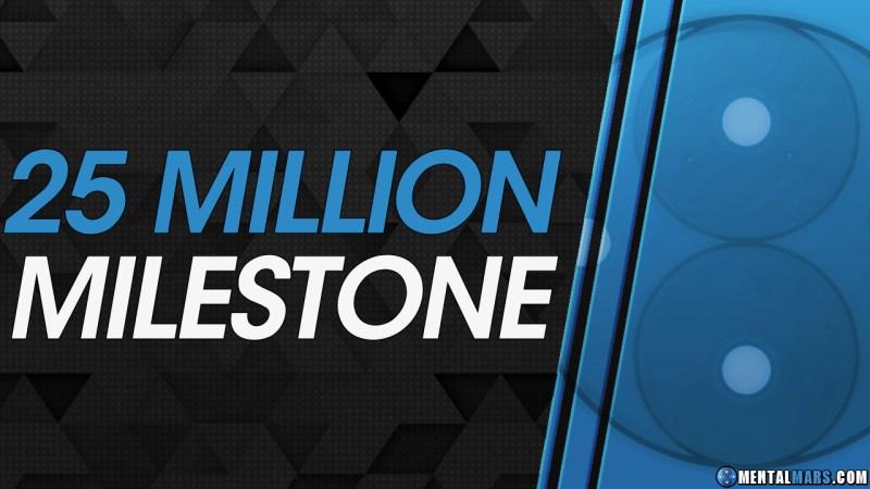 25 Million Milestone - MentalMars