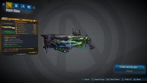 Borderlands 3 Legendary Tediore Shotgun - Creeping Death
