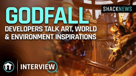 Godfall Art interview