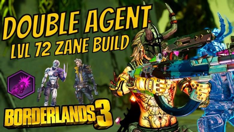 Zane 'Double Agent' Build - Borderlands 3