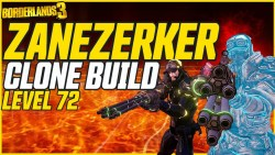 Zane 'Zanezerker' Build - Borderlands 3