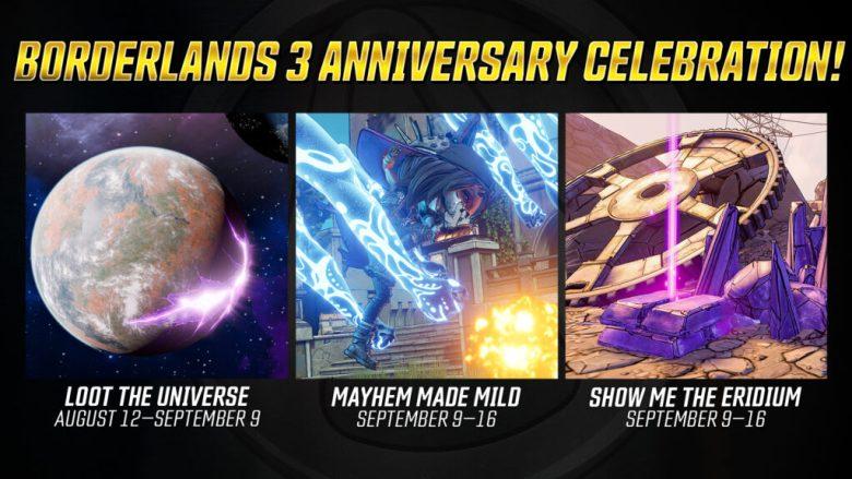 Borderlands 3 - 2nd Anniversary Events