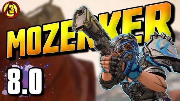 Mozerker 8 Build - Borderlands 3