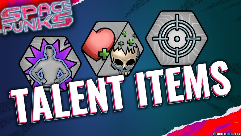 Space Punks Talent items Overview