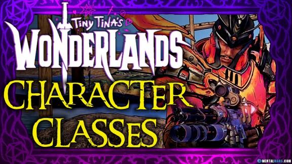 Tiny Tina's Wonderlands Character Classes
