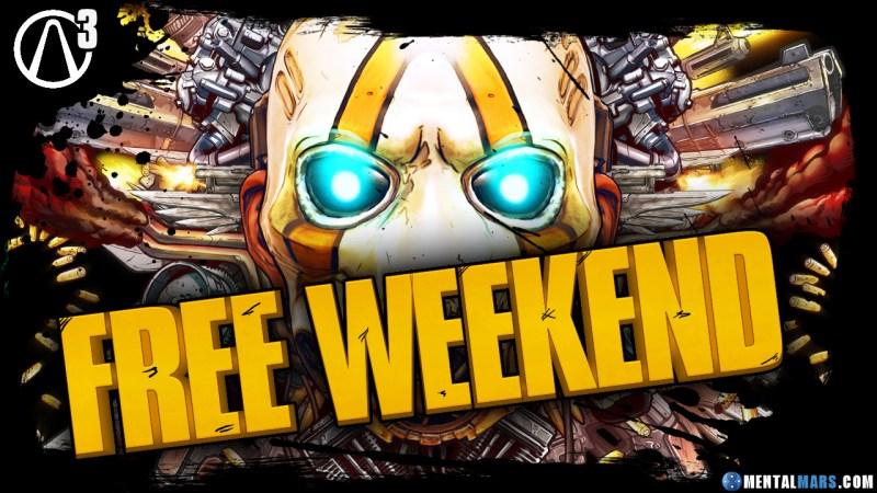 Borderlands 3 Free Weekend