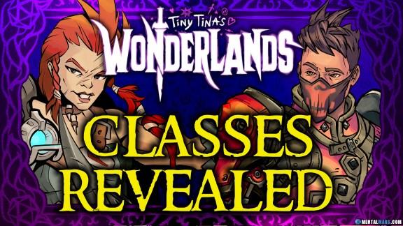 Tiny Tina's Wonderlands 1st Classes Revealed