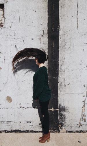 髪質改善トリートメントによって痛んだ髪