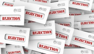 The fear of rejection is the number 1 fear salespeople face