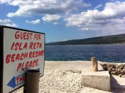 Isla Reta Port