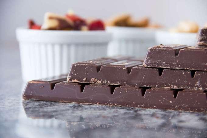 Cioccolato fondente barrette