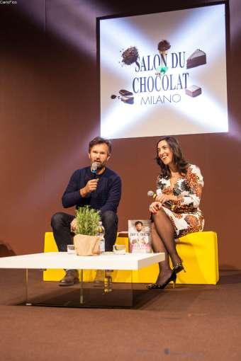 Carlo Cracco e Anna Prandoni