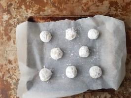 Crinkle cookies pronti da infornare
