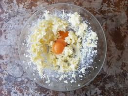 impasto di uova e burro