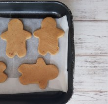 gingerbread cookies da infornare