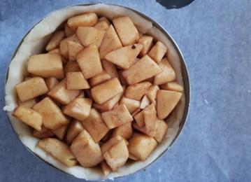 apple pie pronta per il forno