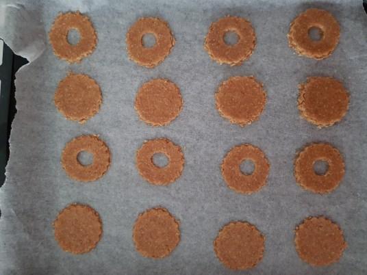 Biscotti di pasta frolla integrale e senza burro