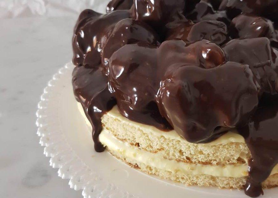 Torta Profiteroles: la torta di compleanno perfetta