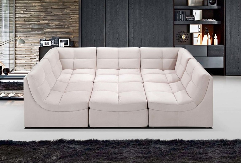 2017 Latest 6 Piece Leather Sectional Sofa : 6 piece leather sectional sofa - Sectionals, Sofas & Couches