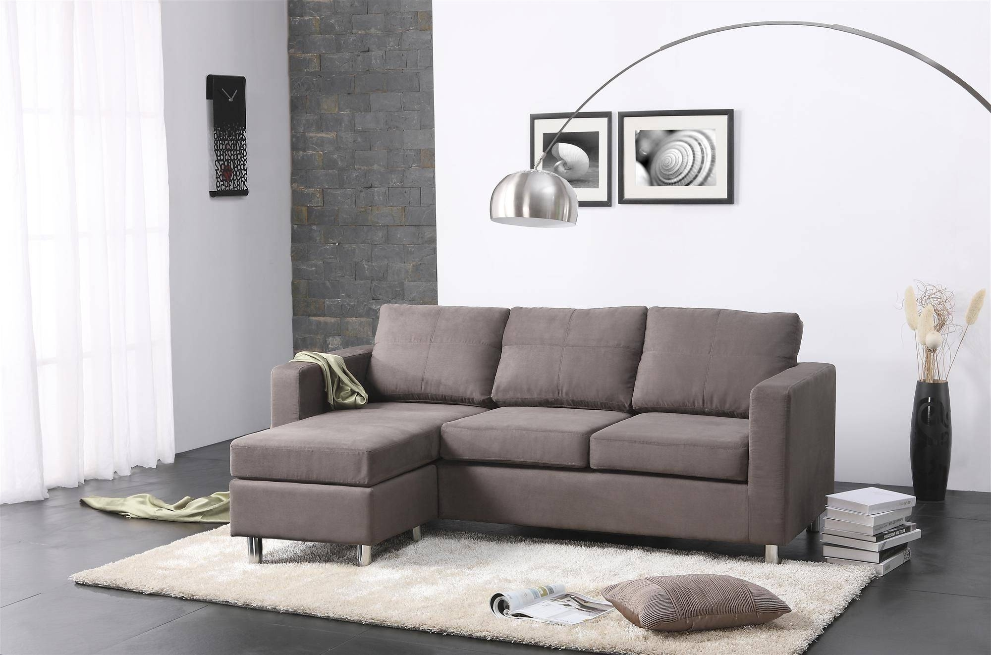 Home house & components rooms living room maximize your space and master your aesthetic with our living room designs, furniture and accessories. Top 25 of Modern Sectional Sofas for Small Spaces