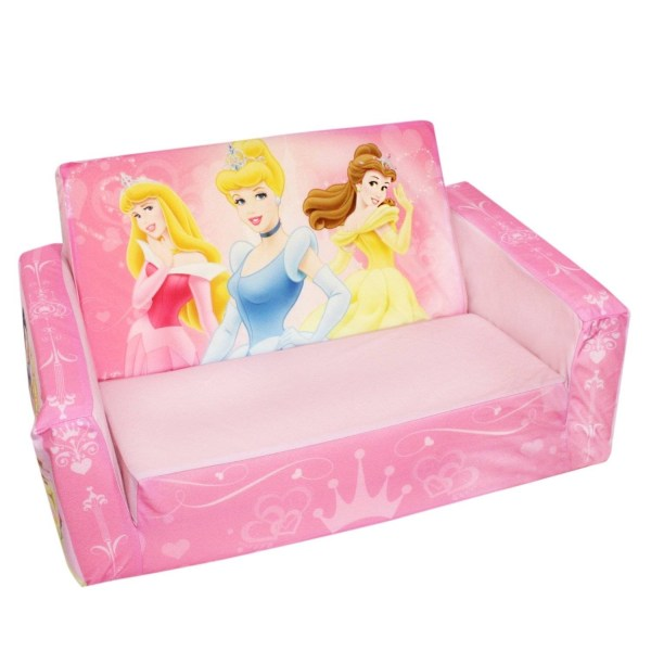 Explore Photos of Disney Princess Couches  Showing 3 of 15 Photos  Disney Princess Toddler Couch Bed   Toddler Couch Bed  Charming Within  Disney Princess Couches