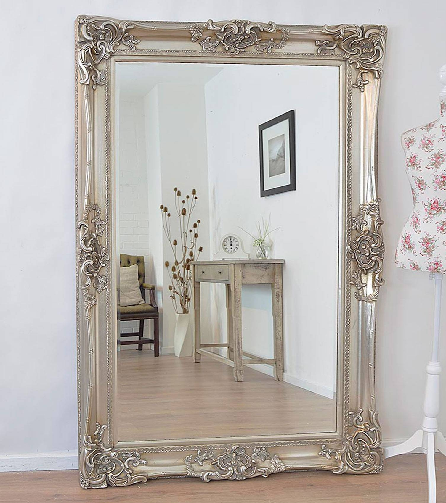 Best Of Large White Floor Mirrors