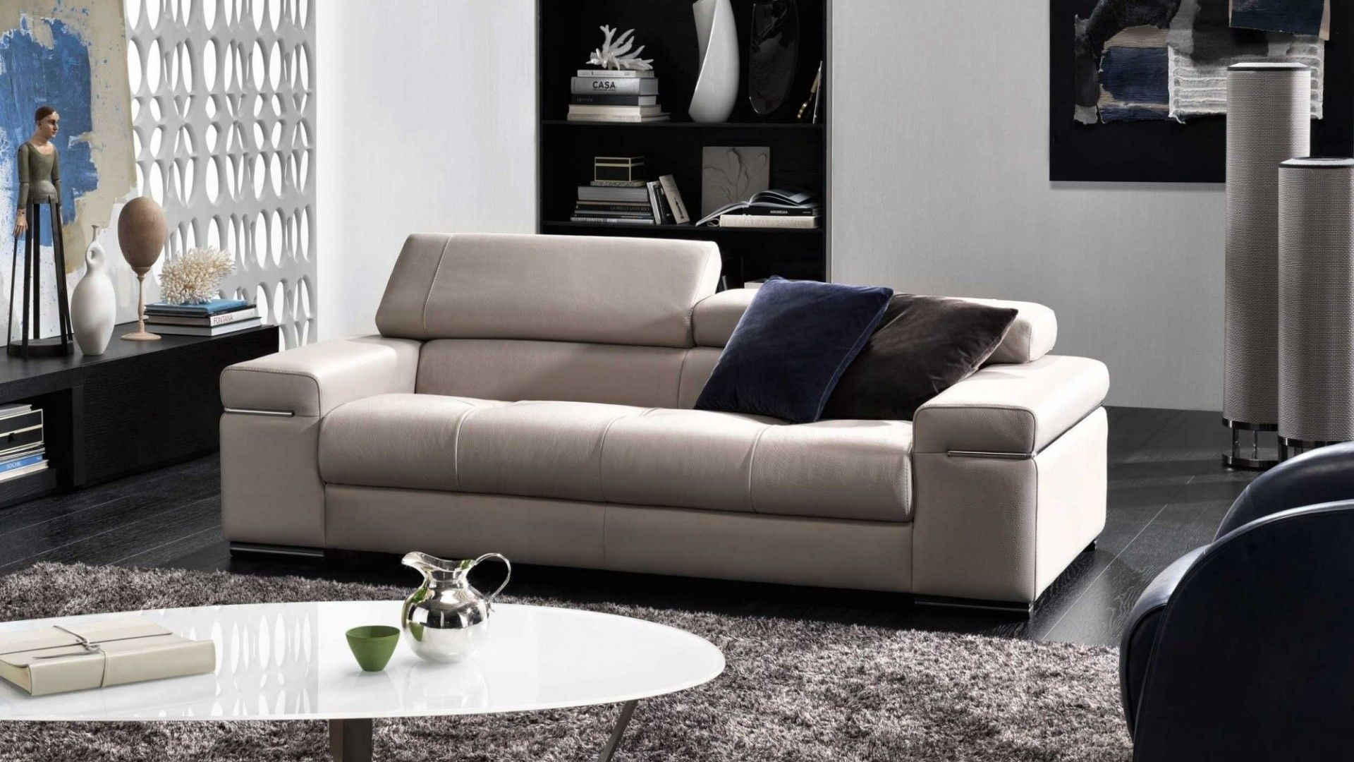 Natuzzi editions giotto leather dual power sofa recliner with tilt headrest. 10 Best Philadelphia Sectional Sofas