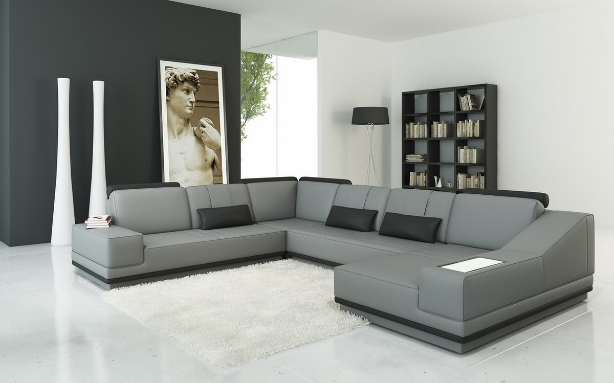 View Gallery Of Modern U Shaped Sectional Sofas Showing 11