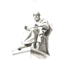 Statue of Plato