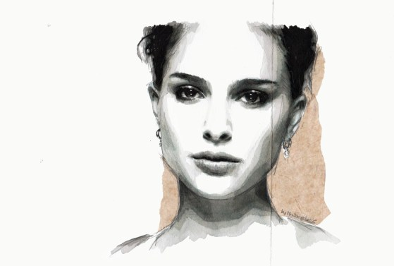 When summer is over (Portrait of Natalie Portman)