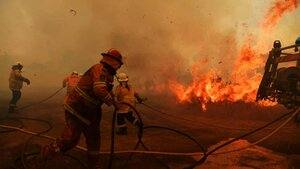 What leadership are we seeing with our recent fires?