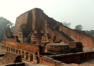 The stupa of Sariputta at Nalanda, Bihar