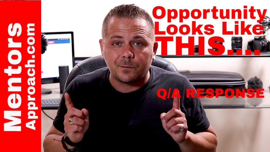 Opportunity and Emotional Control. Making the right decisions Q and A YouTube Response