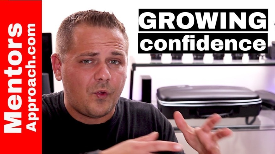 Confidence is Something we All Deal With. Growing confidence