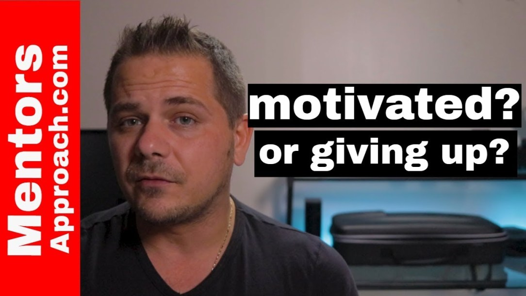 3 Questions to Ask to Get Motivated before you Give up on You