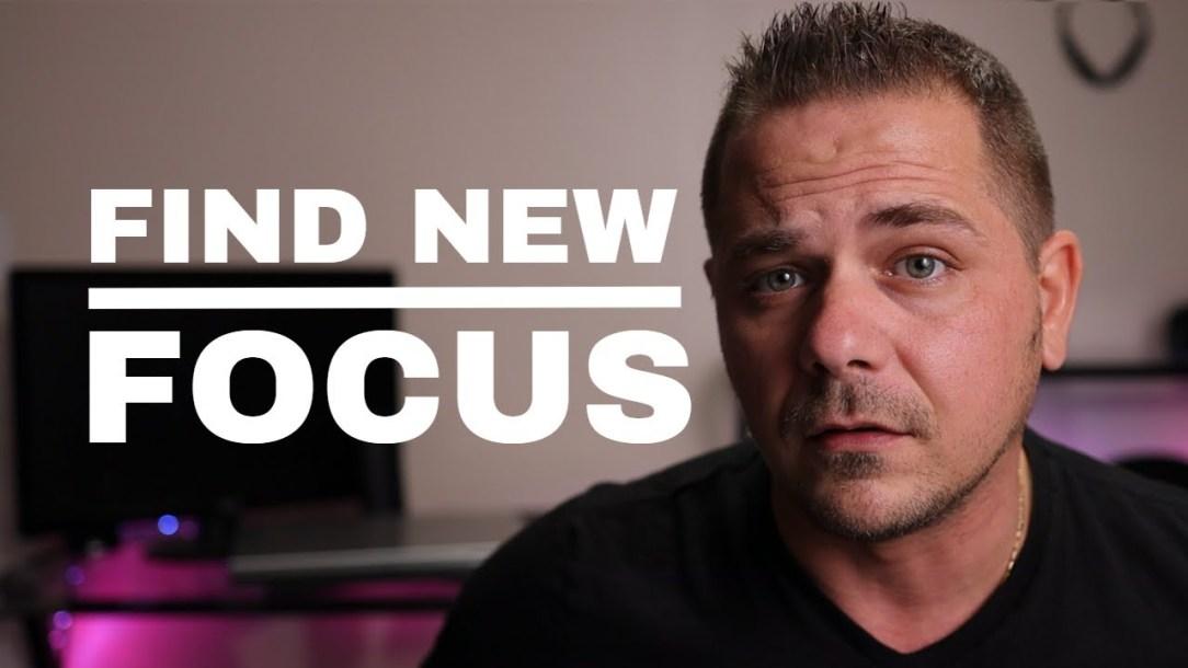 Focusing On Something New